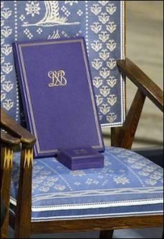 Cadira buida per a un Nobel